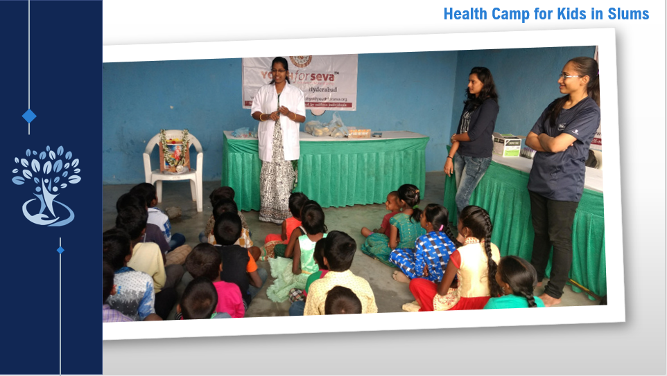 Health Camp for Kids in Slums